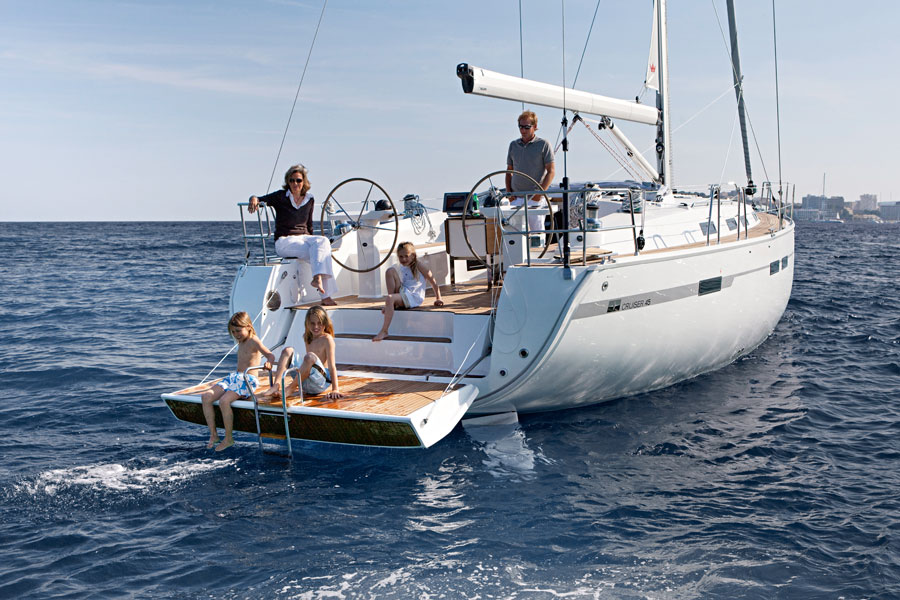Maud Ellen, our lovely 45 ft, four cabin Cruiser. Ideal for Family Holidays and cruises.